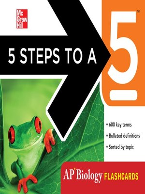cover image of 5 Steps to a 5 AP Biology Flashcards