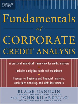 cover image of Standard & Poor's Fundamentals of Corporate Credit Analysis