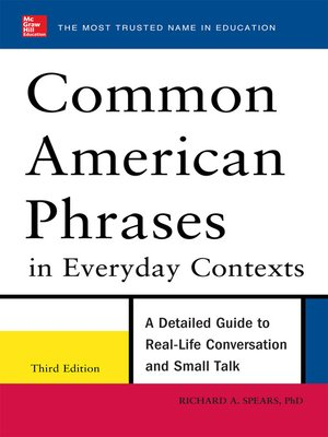cover image of Common American Phrases in Everyday Contexts