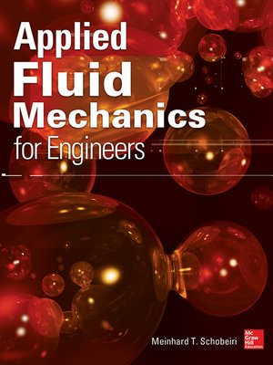 cover image of Applied Fluid Mechanics for Engineers