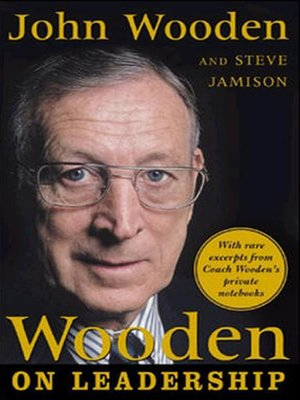 cover image of Wooden on Leadership