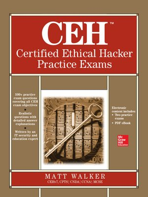 Ceh certified ethical hacker practice exams by matt walker ceh certified ethical hacker practice exams all in one by matt walker ebook fandeluxe Images