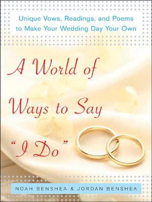 cover image of A World of Ways to Say I Do