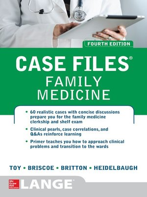 cover image of Case Files Family Medicine