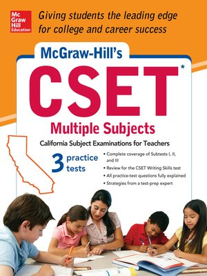 cover image of McGraw-Hill's CSET