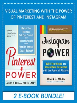 cover image of Visual Marketing with the Power of Pinterest and Instagram