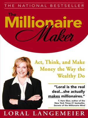 cover image of The Millionaire Maker