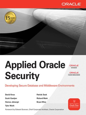 cover image of Applied Oracle Security