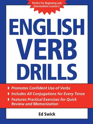 cover image of English Verb Drills