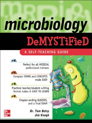 cover image of Microbiology Demystified