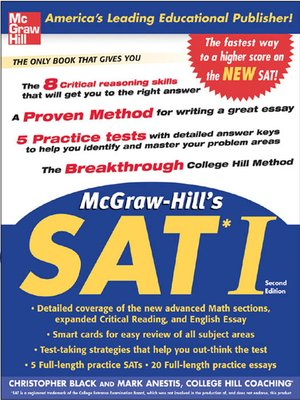cover image of McGraw-Hills SAT I