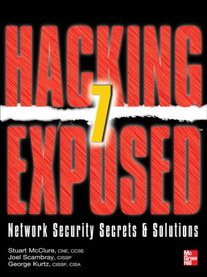 cover image of Hacking Exposed 7