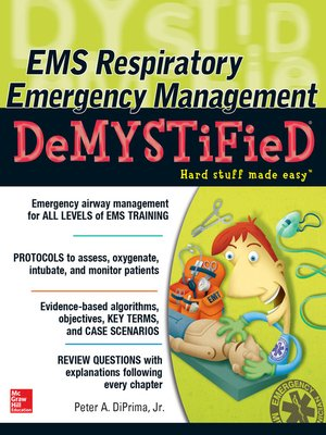 cover image of EMS Respiratory Emergency Management DeMYSTiFieD