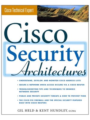 cover image of Cisco Security Architectures