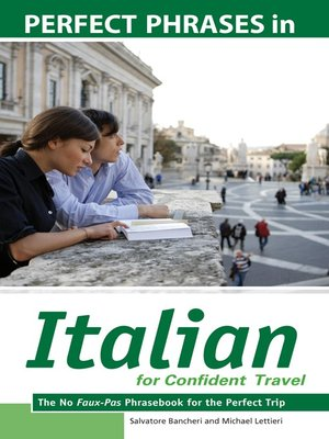 cover image of Perfect Phrases in Italian for Confident Travel