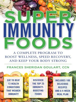cover image of Super Immunity Foods