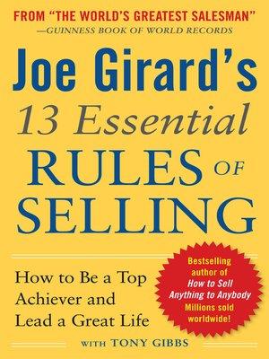 To girard pdf how yourself sell joe