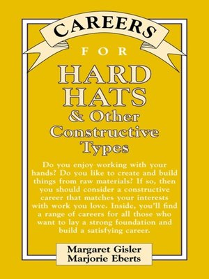 cover image of Careers for Hard Hats & Other Constructive Types