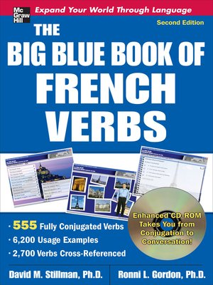 cover image of The Big Blue Book of French Verbs