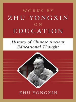 cover image of History of Chinese Ancient Educational Thought