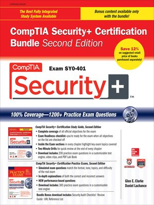 cover image of CompTIA Security+ Certification Bundle (Exam SY0-401)