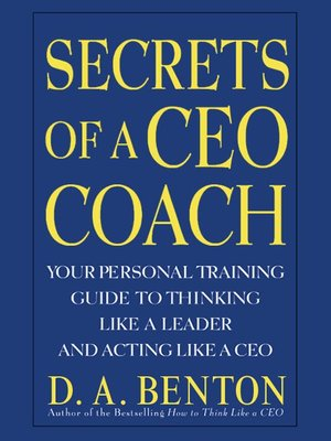 cover image of Secrets of a CEO Coach