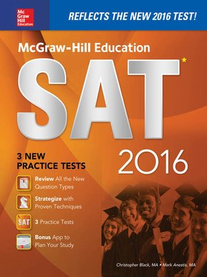 cover image of McGraw-Hill Education SAT 2016 Edition