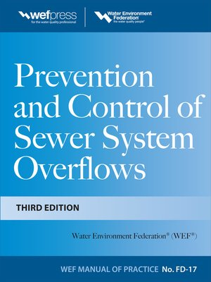 cover image of Prevention and Control of Sewer System Overflows, 3e - MOP FD-17