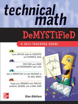 cover image of Technical Math Demystified