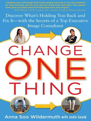 cover image of Change One Thing