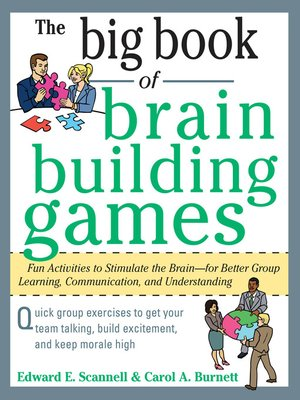 cover image of The Big Book of Brain-Building Games
