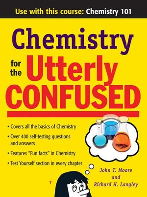 cover image of Chemistry for the Utterly Confused