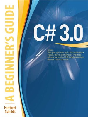 cover image of C# 3.0