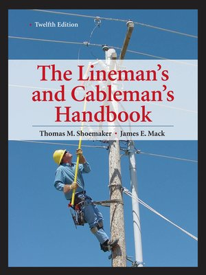 the linemans and cablemans handbook pdf