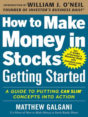how to make money in stocks ebook