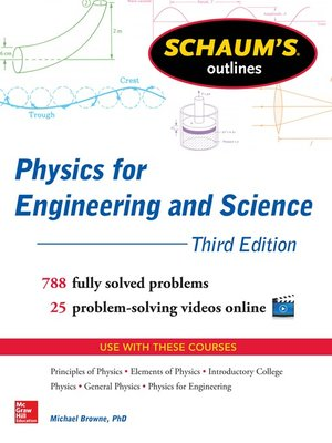 cover image of Schaum's Outline of Physics for Engineering and Science