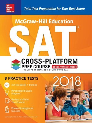cover image of McGraw-Hill Education SAT 2018 Cross-Platform Prep Course