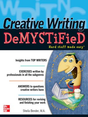 cover image of Creative Writing DeMYSTiFied