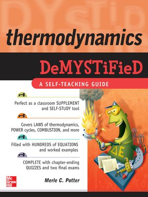 cover image of Thermodynamics Demystified