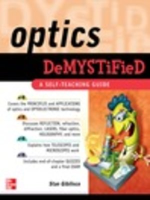 cover image of Optics Demystified