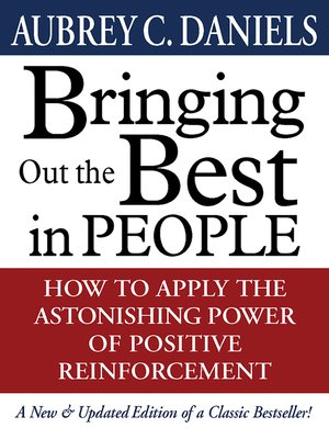 cover image of Bringing Out the Best in People