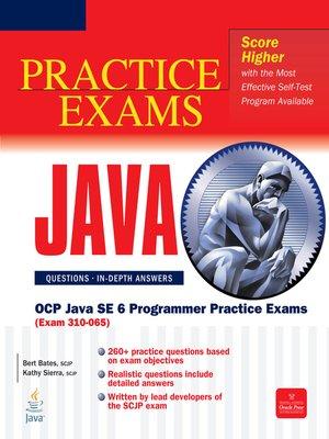cover image of OCP Java SE 6 Programmer Practice Exams (Exam 310-065)