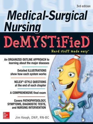 cover image of Medical-Surgical Nursing Demystified