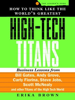 cover image of How to Think Like the World's Greatest High-Tech Titans