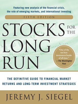 cover image of Stocks for the Long Run 5/E