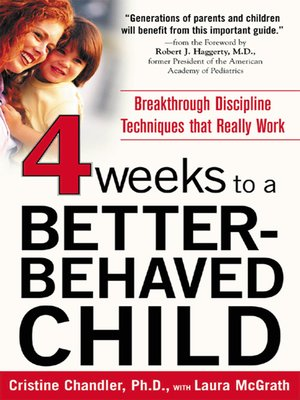 cover image of Four Weeks to a Better-Behaved Child