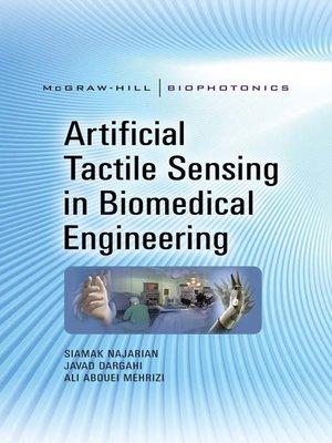 cover image of Artificial Tactile Sensing in Biomedical Engineering