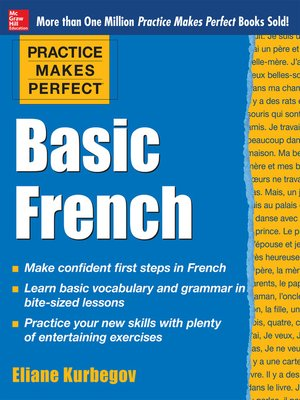 cover image of Practice Makes Perfect Basic French