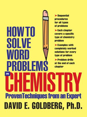 cover image of How to Solve Word Problems in Chemistry