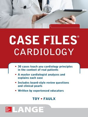 cover image of Case Files Cardiology